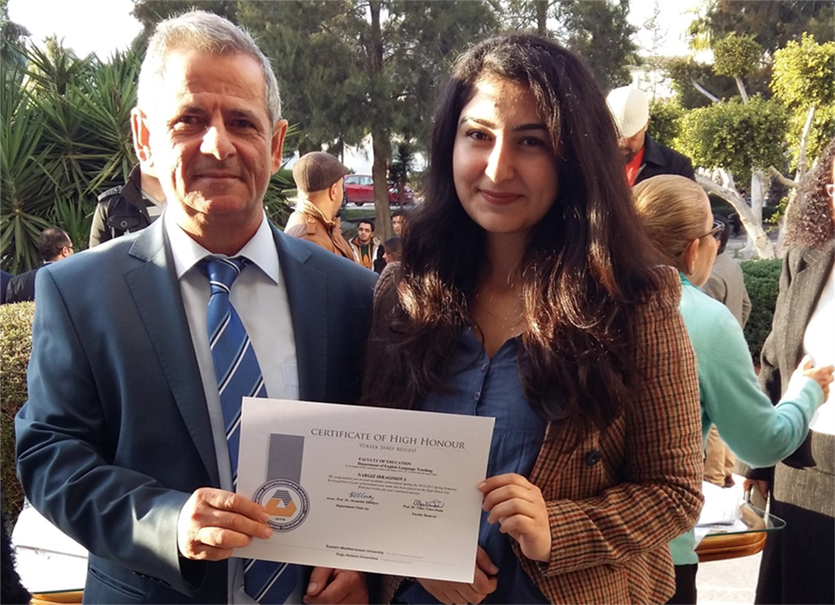 EMU English Language Teaching Department Awarded Certificates to Successful Students