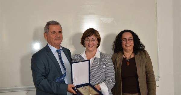 ELT Department receives the Public Affairs Officer Ingrid D. Larson from the Embassy of the United States of America