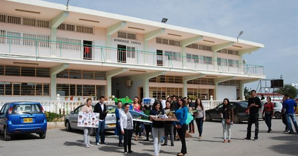 ELT students donate their projects and 3D materials to public schools