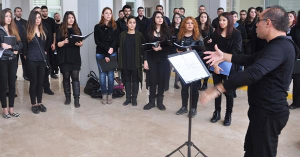 Eastern Mediterranean University Celebrated World Choral Day