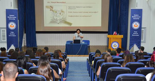 "EMU Hosted a Conference Entitled ""Being a Teacher in the 21st Century"""