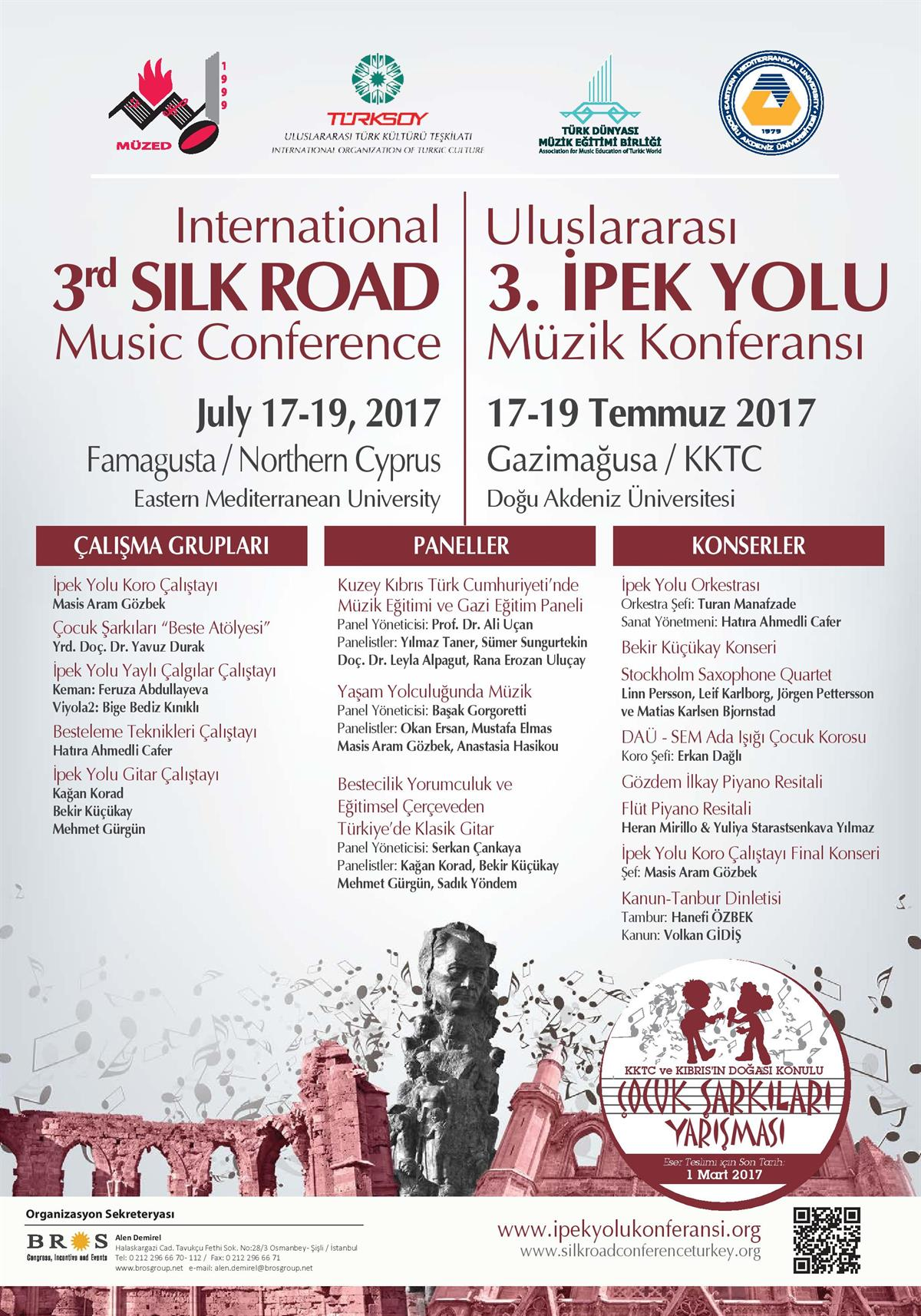 International 3rd SILK ROAD Music Conferance